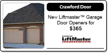 Specials  sc 1 th 158 & Crawford Garage Doors